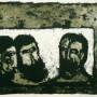 """Hilda Castellón  """"Maji"""" (Los Reyes Magos), c.1965-1975, litografía, 2/20,  41 x 51,5 cm"""