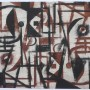 """JUAN CARLOS MESTRE """"Mujer con Pájaro"""". Aguafuerte y aguatinta. 75x56 cm. 2004"""