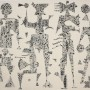 """JUAN CARLOS MESTRE """"Tribu"""". Aguafuerte. 75x56 cm. Edición: 25 ejemplares"""