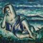 Ginés Parra, óleo sobre lienzo, 50 x 61 cm