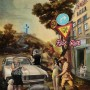 """Aurora Rumí """"Fajas Ruiz"""", 2008 75 x 65 cm, Collage y Óleo, ejemplar único p.v.p: 700 € + IVA =  847 €"""