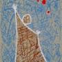 DOROTEO ARNÁIZ,  Iván el terrible, 1961 Aguafuerte.Una plancha de cobre  18 x 13,5 cm  Cuatro tintas. Papel Arches 38  x 28,5 cm.  PA VI/X. Edición: 50 ejemplares + 10 PA p.v.p: 200  € + IVA =  242 €