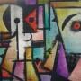 Juan Carlos Mestre, aguafuerte iluminado, 75 x 56 cm, papel superalfa 75 x 56 cm, 1/1 600 €