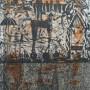 Juan Carlos Mestre, El an?o que no llego? el oton?o, aguafuerte y aguatinta 75 x 56 cm, papel superalfa 75 x 56 cm , PA  570 €