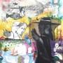 Juan Carlos Mestre, litografia, aguafuerte, acuarela y collage, 65 x 56 cm, papel 75 x 56 cm, 1/1 800 € VENDIDO