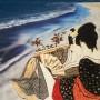 CONNIE WESTENDORP, Amantes, Playa Cosón, Samaná, 2014 fotografía y técnicas mixtas sobre lienzo,  p.v.p: 490 € + IVA =  592,90 €