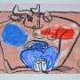 LE CORBUSIER, Unité, 1963-65. Grabado al aguafuerte, Edición: 160 ejemplares. Ejemplar numerado XXIV/XXX y firmado por el artista Tamaño plancha: 31 x 42 cm.Tamaño obra: 45 x 57 cm. Esta obra pertenece al libro UNITÉ, impreso entre 1963 y  1965 en París.  El libro consta de 20 aguafuertes firmados en plancha.  Cada aguafuerte consta de 130 ejemplares firmados y numerados 1/130-130/130  y 30 ejemplares firmados y numerados I/XXX-XXX/XXX.  p.v.p: Obra: 7000 € + IVA = 8470 €