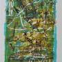 JAVIER MARISCAL, Tots Junts Amb La Sabana,  2003. Serigrafía en 6 colores.  Edición: 125 ejemplares.  Ejemplar HC, firmado Tamaño obra: 76 x 56 cm. p.v.p: Obra: 610 €