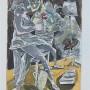 CEESEPE Serie Figuras, 5,1991 Grabado al aguafuerte 76 x 56 cm. Edición de 75 ejemplares Precio: 280 .-eur + IVA = 338,80 €