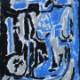 22 Los animales falsos V, tinta y pastel sobre papel, 17 x 21 cm, 80 € (Medium)