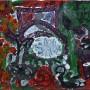 6 El cordero de Marcias, acrilico y tempera sobre papel, 40 x 30 cm, 2016