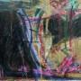 A5.- ¡Habeas Corpus! guache acrilico y pastel sobre tela 40 x 30 cm, 2016