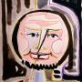 Pituco. -Cabeza de hombre. Década 1960. Técnica mixta sobre cartulina. 24.2 x 17,2 cm. p.v.p obra enmarcada: 575 € + IVA = 695 €