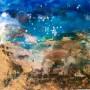 CONNIE WESTENDORP Mañana azul. Formentera, 2018,  50 x 70 cm fotografía, procesos digitales, óleo y relieve sobre lienzo. p.v.p:  600 € + IVA  = 726 €