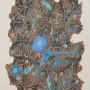 RAFAEL ALBERTI Sin título, 1985. Serigrafía , 70 x 50 cm Edición: 100 ejemplares.  Ejemplar 1/100, firmada a mano. p.v.p: Obra: 330 €