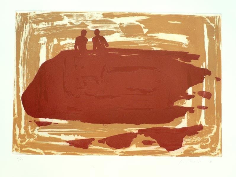Grabado arte contemporáneo español, aguafuerte etching obra gráfica original comprar