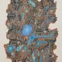 RAFAEL ALBERTI Sin título, 1985. Serigrafía , 70 x 50 cm Edición: 100 ejemplares.  Ejemplar 1/100, firmada a mano. p.v.p: 330 €