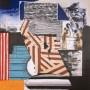 ABRAHAM LACALLE, Serie Hastío Sideral 3, 2004, Grabado al aguafuerte y aguatinta. 118 x 98 cm Edición: 35 ejemplares numerados y firmados. p.v.p  2150 € + IVA = 2601,50 €