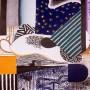 ABRAHAM LACALLE, Serie Hastío Sideral 4, 2004 Grabado al aguafuerte y aguatinta. 118 x 98 cm Edición: 35 ejemplares numerados y firmados. p.v.p  2150 € + IVA = 2601,50 €