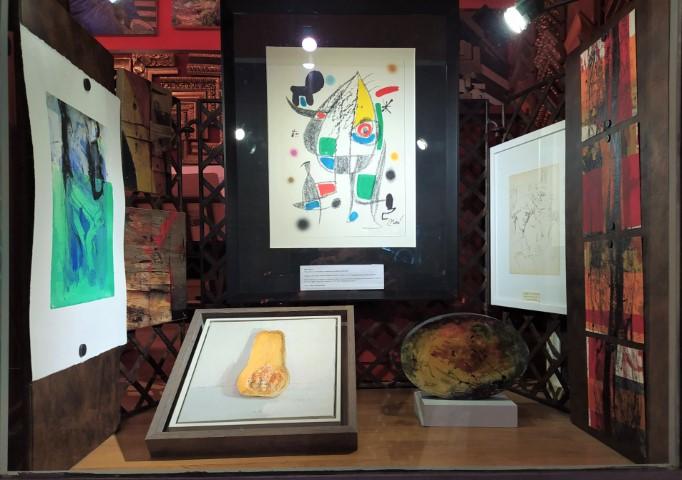Miró, Joan Miró, Eduardo Millán, Federico Castellón, Cristina Moneo, Venancio Arribas, Alexandra Domínguez, Karlos Kaplan
